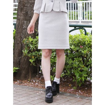 [dazzlin]レトロミディタイトスカート