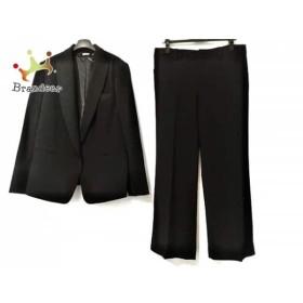ダナキャラン DKNY レディースパンツスーツ サイズ12 L レディース 黒 肩パッド   スペシャル特価 20190717