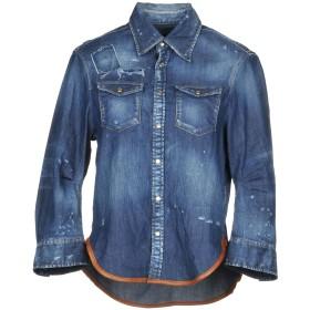 《期間限定セール開催中!》DSQUARED2 レディース デニムシャツ ブルー 38 コットン 98% / ポリウレタン 2%