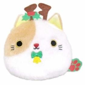 クリスマスねこだんご トナカイ 高さ9cm