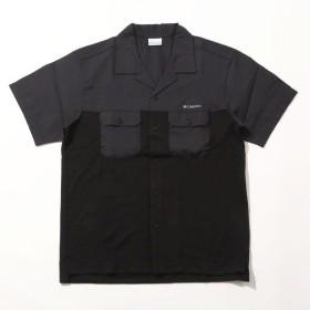 (セール)(送料無料)Columbia(コロンビア)トレッキング アウトドア 半袖Tシャツ ビッグブラックコーンショートスリーブシャツ PM6492-010 メンズ BLACK