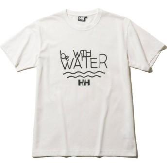 (セール)HELLY HANSEN(ヘリーハンセン)トレッキング アウトドア 半袖Tシャツ S/S Be With Water Tee HE61909 W メンズ W