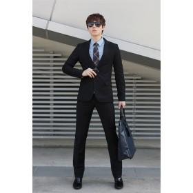 【新品!SALE!】 2点セット/ダブルスリット/メンズファッション/トレンド/CHIC気質/おしゃれな/大人気/メンズ/ビジネス/メンズファッション/フォーマルセット/フォーマル新社会人/スーツ/