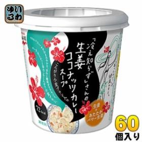 永谷園 「冷え知らず」さんの生姜ココナッツカレースープ 60個 (6個入×10 まとめ買い)
