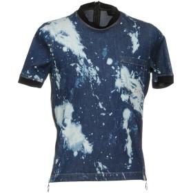 《セール開催中》DSQUARED2 メンズ T シャツ ブルー 46 コットン 98% / ポリウレタン 2%