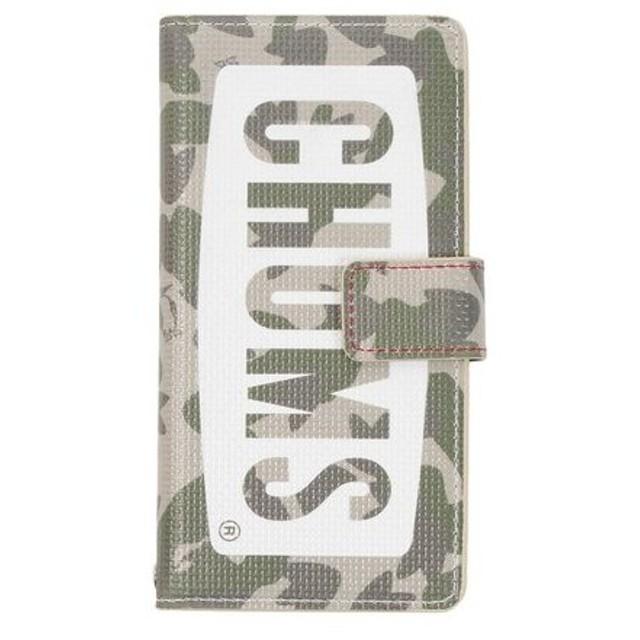 チャムス(CHUMS) Diary Case For iPhone 6/7/8 CH62-1273 Camo (Men's、Lady's)