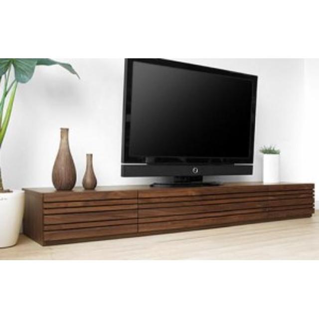 直線的なラインが美しい 北欧風 TVボード 幅180cm / cf0049