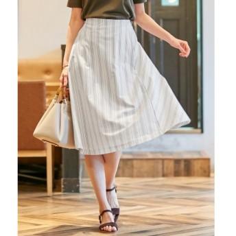 J.PRESS / ジェイプレス 【洗える】ストライプジャージー スカート