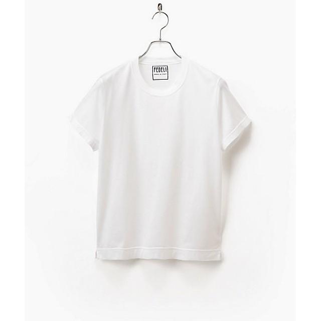 <フェデッリ> ネイションSTシャツ(91/NATION/GIZA87) 41ホワイト 【三越・伊勢丹/公式】