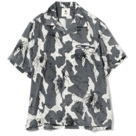 CILK / ファイヤーワーク オープンカラーシャツ メンズ カジュアルシャツ CHARCOAL.G L
