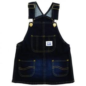 ベビーザらス限定 Buddy Lee デニムジャンパースカート(ネイビー×80cm)【送料無料】