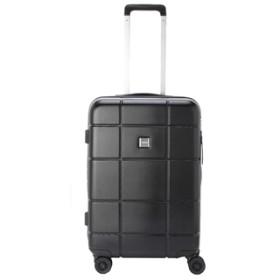 【TITAN】ジッパースーツケース S【機内持込みサイズ】【1-2泊対応】 ブラック
