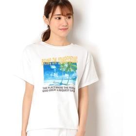 [マルイ]【セール】ビーチフォトTシャツ/イング(INGNI)