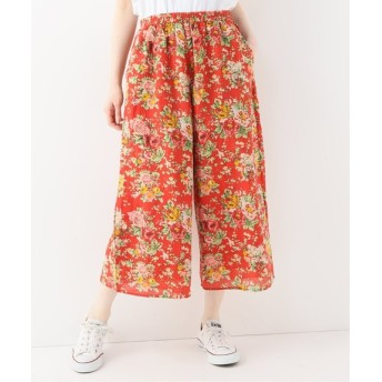 journal standard luxe 【SOIL/ソイル】 FLOWER PRINT EASY PANTS◆ レッド 1