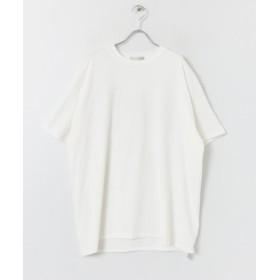 【51%OFF】 センスオブプレイス バックプリントTシャツ(5分袖) メンズ WHITE M 【SENSE OF PLACE】 【セール開催中】