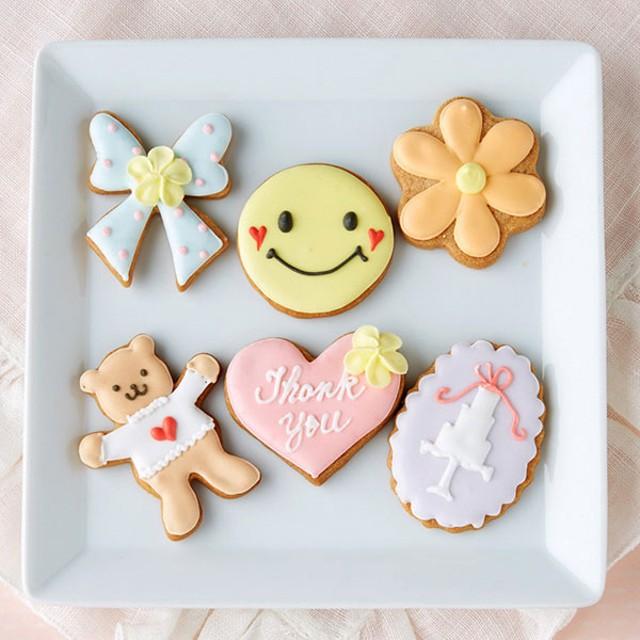 【婦人画報】サンキューアイシングクッキー 6枚入り