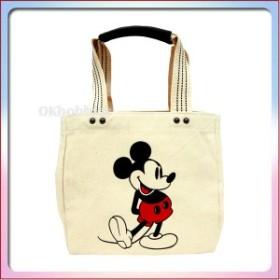8ea2f16d9e04 ミッキー マウス 白 (キャンバス地) ランチ トートバッグ お弁当 バッグ 鞄 かばん バック