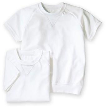 丸首。半袖 体操服シャツ2枚組 体操服