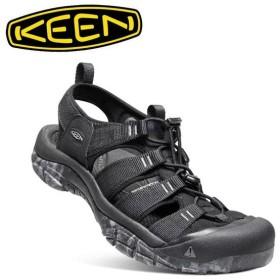 キーン KEEN NEWPORT H2 ニューポート エイチツー BLACK/SWIRL OUTSOLE 1020285  【サンダル/メンズ/シティ/トラベル/アウトドアシューズ/カジュアルシューズ】