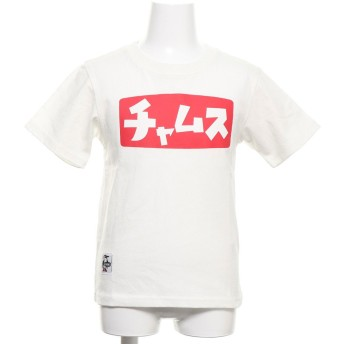 チャムス CHUMS トレッキング 半袖Tシャツ Kid's Katakana T-Shirt CH21-1096