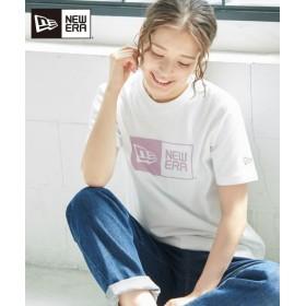 ロペピクニック/【NEW ERA】ロゴカラー別注Tシャツ/キナリ/40