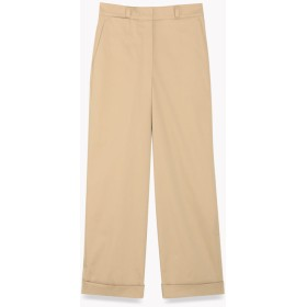 【Theory】Casual Twill Straight Cuff Pant