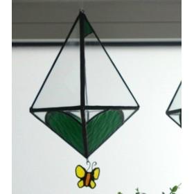 蝶々が可愛い吊り下げテラリウム(2)