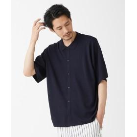 [マルイ]【セール】14G ナノテックニットシャツ/モルガンオム(MORGAN HOMME)