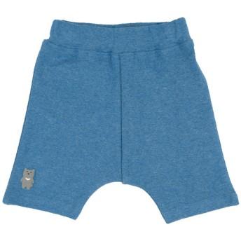 ベビー シンプルフリー パンツ 6分丈 ブルー ベビー・キッズウェア ベビー(70~95cm) ボトムス(男児) (198)