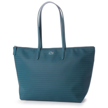 LACOSTE L.12.12 CONCEPT FANTAISIE ピンボーダートートバッグ