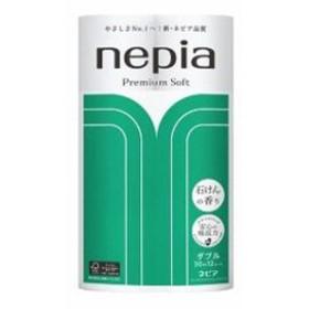 ネピア プレミアムソフト トイレットロール ダブル せっけんの香り (30m×12ロール) トイレットペーパー