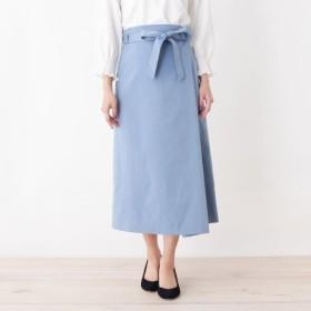 [マルイ]【セール】innowave シャンブレーサイドラップスカート/スープ(SOUP)