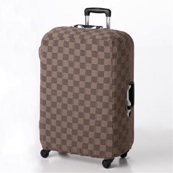 ぴったりフィットインテリア小物 ■カラー:ブラウン系 ■サイズ:スーツケース用