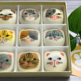 敬老の日 猫 和菓子 マシュマロ 【マシュネコ】 寒天
