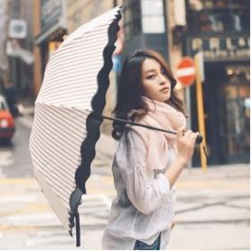 日傘 晴雨兼用 軽量 UVカット 折りたたみ傘 100% 遮光 遮熱 完全遮光 折り畳み 傘 レディース ボーダー柄日傘 遮熱効果 UVカット 紫外線