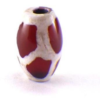 天珠 ビーズ 亀甲天珠(ミニ)(1個)チベット 天珠 バラ売り 天然石 1粒売り 1玉 パーツ 風水グッズ 風水 ゆうパケット送料無料