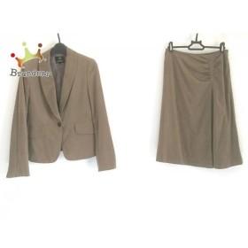 ニジュウサンク 23区 スカートスーツ サイズ38 M レディース ダークブラウン   スペシャル特価 20190707