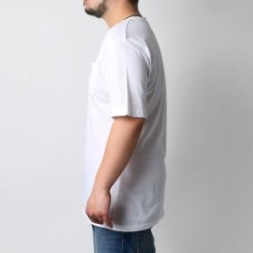 Tシャツ - MARUKAWA フィラ Tシャツ 大きいサイズ メンズ 夏 半袖 ポケット ホワイト/ブラック/ネイビー 3L/4L/5L【ブランド 刺繍 ロゴ】