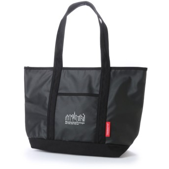 マンハッタンポーテージ Manhattan Portage MP Logo Printed Cherry Hill Tote Bag (Black/White)