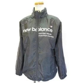 c972477609b32 ニューバランス NEW BALANCE スポーツ ウェア ウィンドブレーカー ジップアップ ジャケット フード内蔵 裏起毛 L グレー