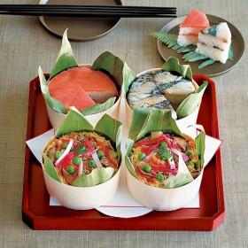 【婦人画報】紀州山海彩り桶寿司 4個入り