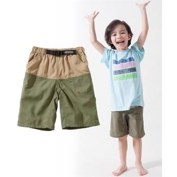水陸両用アクティブパンツ(男の子 子供服。ジュニア服) パンツ