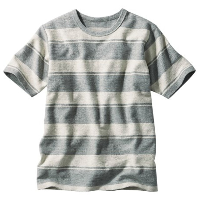 半袖ボーダーTシャツ Tシャツ・カットソー