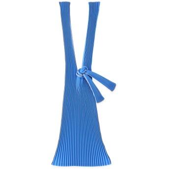 PLECO プリーツバッグ L ブルー コーンベースPLA