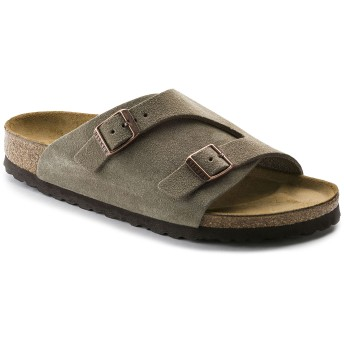 【BIRKENSTOCK】Zürich/チューリッヒ Suede Leather トープ スウェードレザー ビルケンシュトック