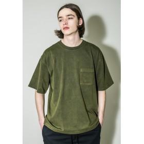 【30%OFF】 ビューティ&ユース ユナイテッドアローズ <monkey time> 40/2 CHAMB DYE POC T/Tシャツ メンズ OLIVE M 【BEAUTY & YOUTH UNITED ARROWS】 【セール開催中】