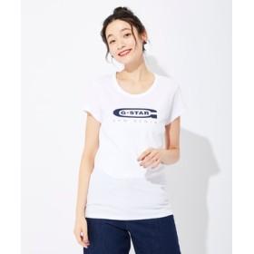 G-Star RAW グラフィックスリムTシャツ レディース ホワイト