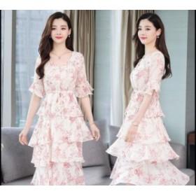 シフォン ワンピース レディース ワンピ 服 きれいめ ファッション 女性 大きいサイズ 通勤 シンプル フォーマル オフィス カジュアル 30