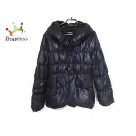 ストロベリーフィールズ ダウンジャケット サイズ2 M レディース 美品 ダークネイビー 冬物 新着 20190424