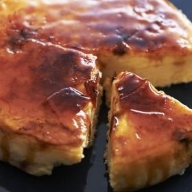 【婦人画報】チーズケーキキャラメリゼ